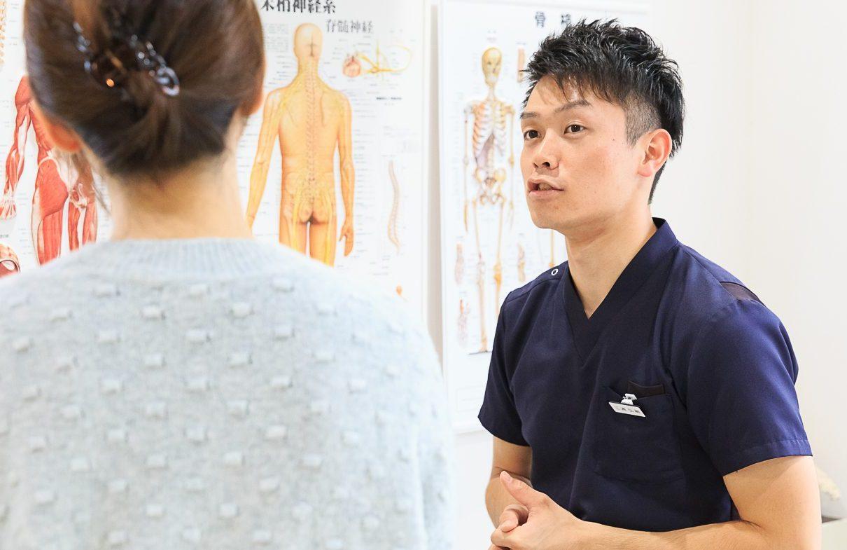 腰痛のカウンセリング